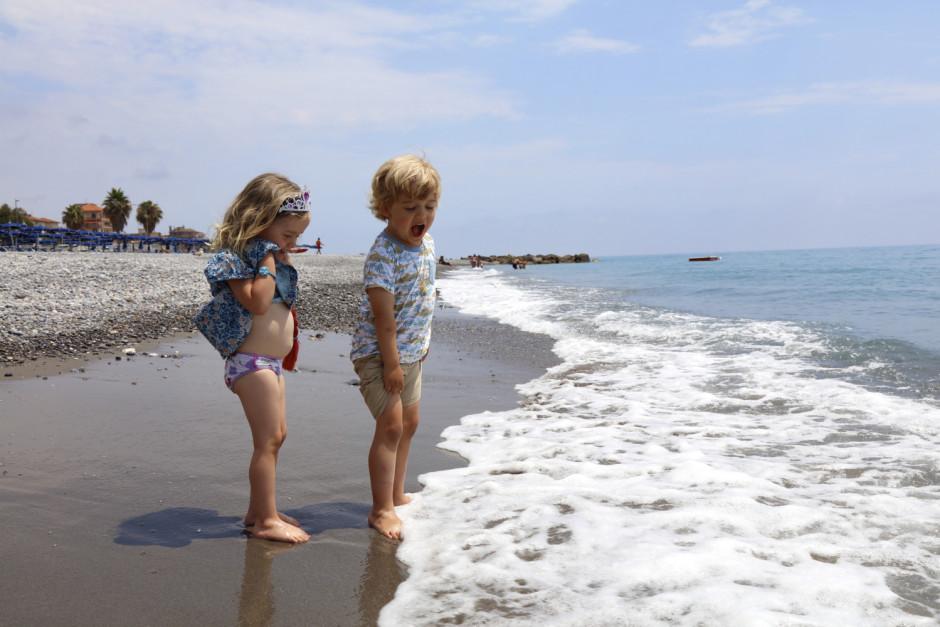 07. On the beach