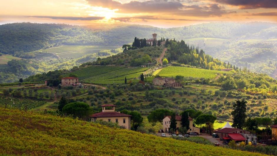 Vinmarker-ved-Chianti-Umbrien-Italien-Hideaways